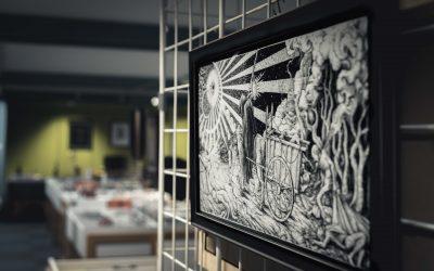 Exposition «Noir» de Cold Mind & Maniak